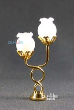 Dollhouse miniature lights, LED miniature lighting with battery, 12v OEM wiring miniature lighting 1:12