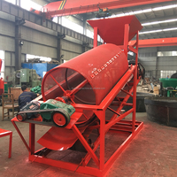 2018 NEW Vibrating rotary sand drum sieve /asphalt screening machine