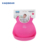 KAQIBEAR Top Manufacturing  FDA SGS approved Bibs Custom Color Foldable Waterproof Silicone Baby Bibs Wholesale
