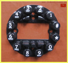 2014DIY durable silicone rubber keypad button