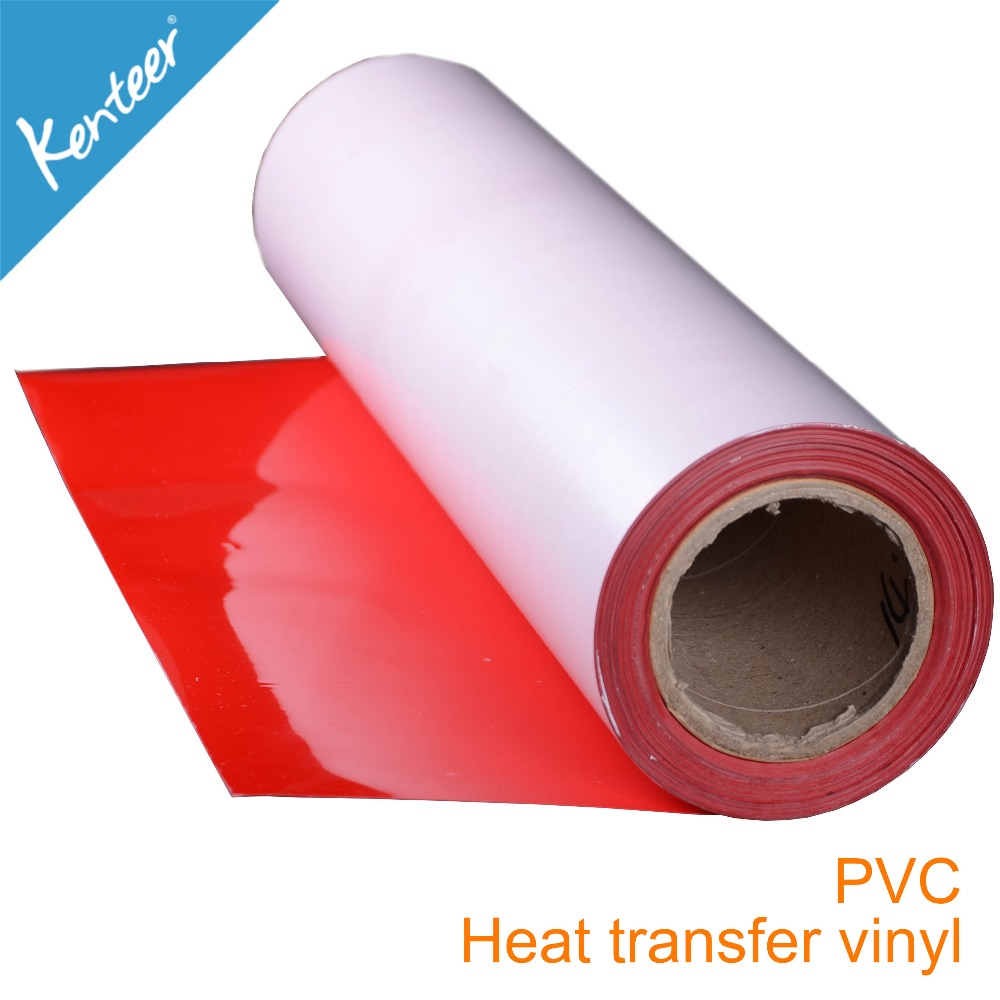 Kenteer Various Kinds Color PVC Film & Flex Neon PVC Heat Transfer Vinyl
