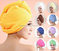 quick-dry hair wrap towel from factory