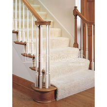 classical wooden banister for indoor porch/stair/balcony