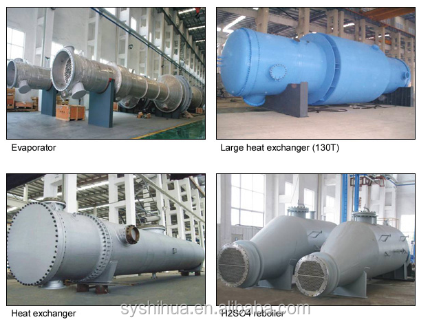 Quality guarantee shell and tube heat exchanger