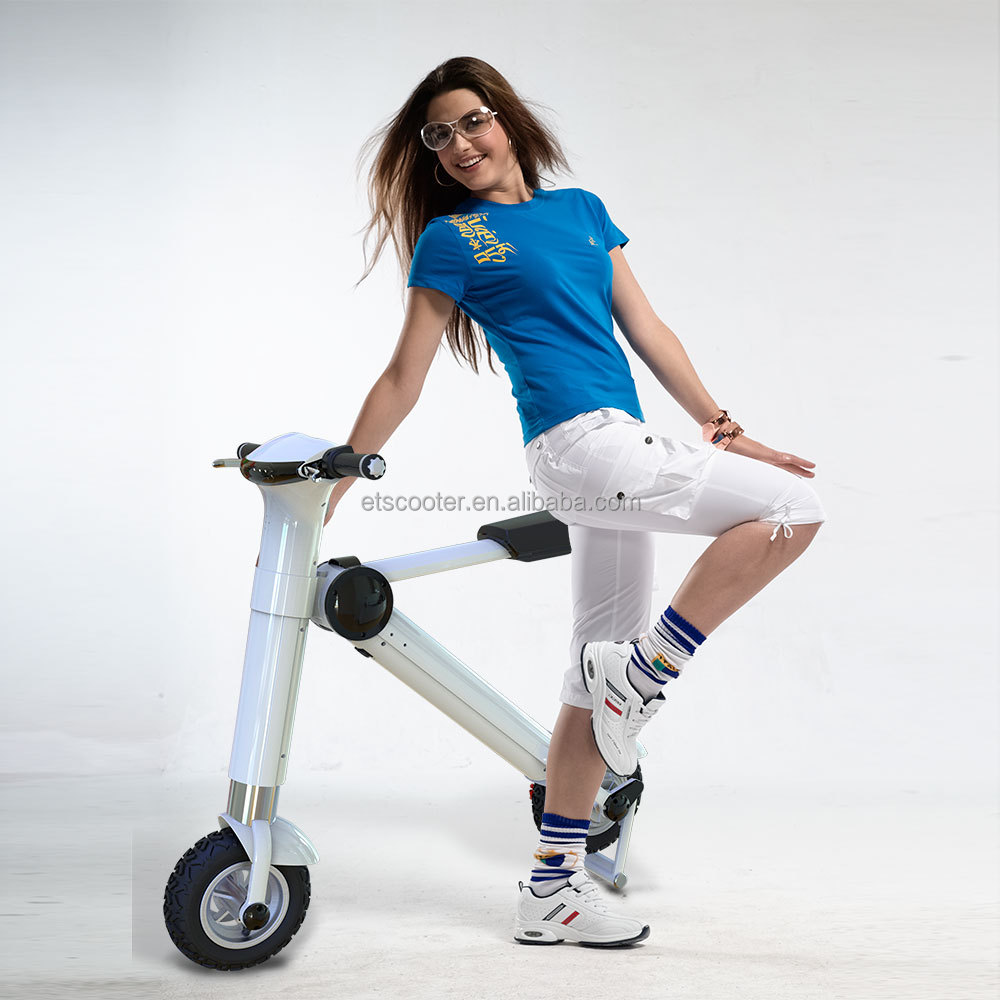 CE approved 10inch Mini 2 wheels folding adult electric motorcycle with high quality