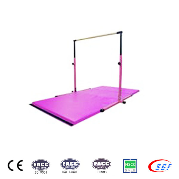 Kids leisure gymnastics indoor horizontal bar