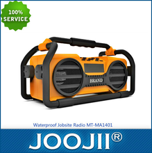 tool radio,dab jobsite radio,portable am fm radio with bluetooth