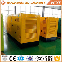 Best sell weifang silent canopy diesel generator yanan 50hz for sale with good price