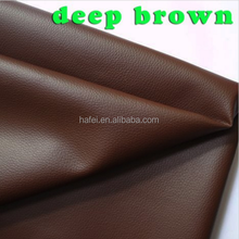 deep brown Small PU artificial leather Faux Upholstery Leather Fabric