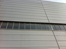 Color coated zinc aluminum roofing sheet