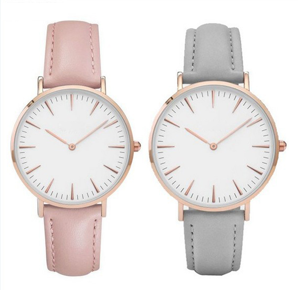 5172 Women Luxury Brand 19 Colors Quartz Watch Leather Strap Watch Best Ladies Wrist Watches Women