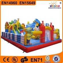 Hot selling inflatable fun city/amusement park