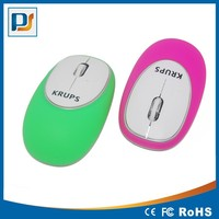 Special Soft touch silicon 2.4G wireless mouse