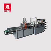 Two layer T shirt plastic Bag making Machine price