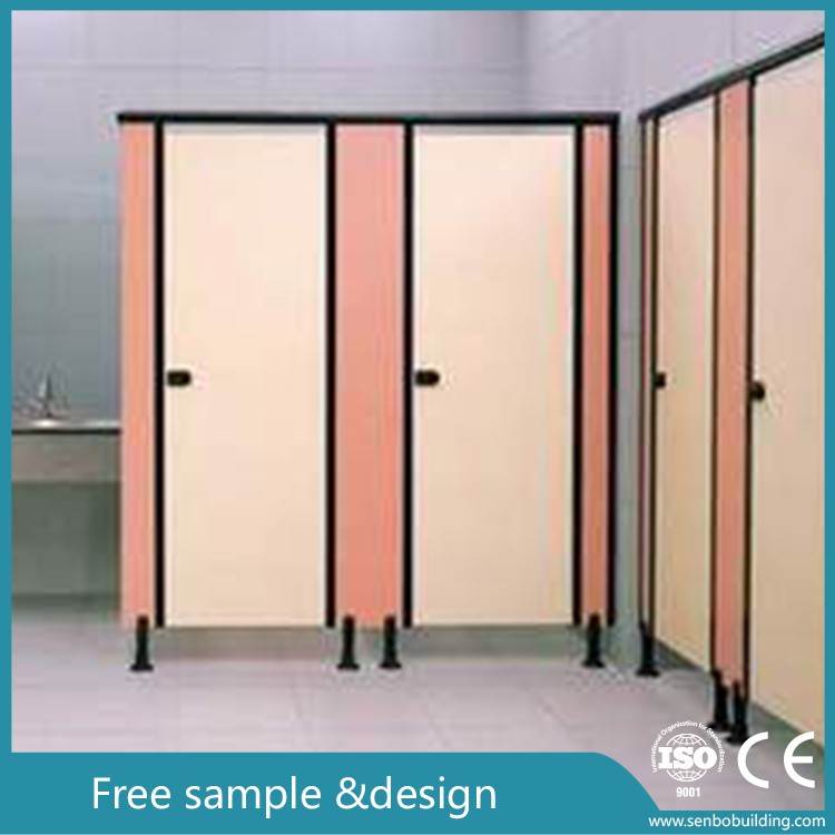 WC HPL compact toilet partition / toilet cubicles