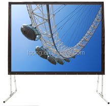 Portable Easy Fold Projection Screen Rear and Front Fast Fold Screen