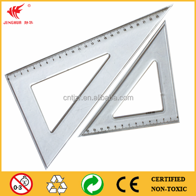 promotional triangular scale ruler