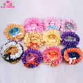 New arrival baby girls satin bloomers with bow ribbon cute wholesale kids tutu bloomers