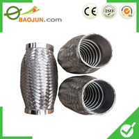 Large diameter coupling stainless steel bellows