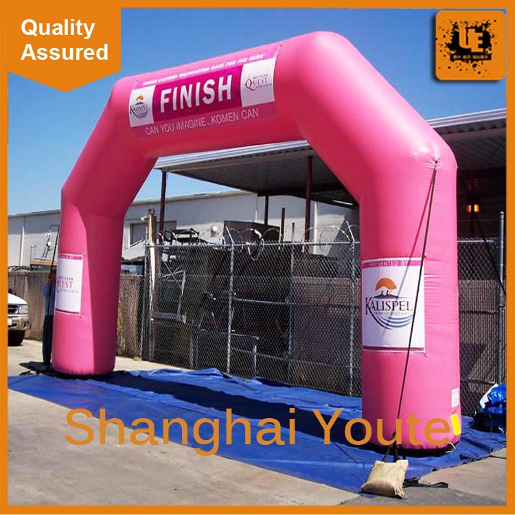 Outdoor advertising truss inflatable arch inflatable custom arch