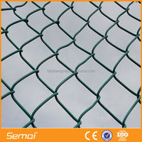 Anping Factory High Quality Galvanized PVC Coated iso 9001 chain link fence netting(ISO9001:2008;Manufacturer)
