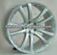 20 inch black chrome beautiful replica rims for Jaguar