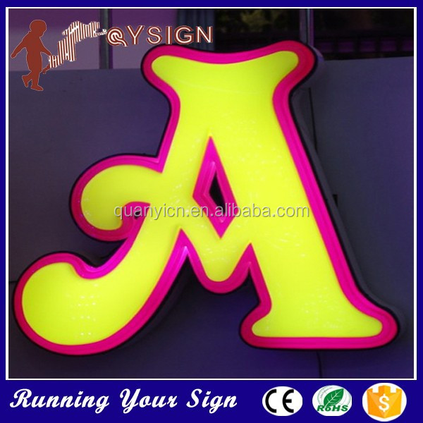 Anti-rust brand name logos LED high quality product