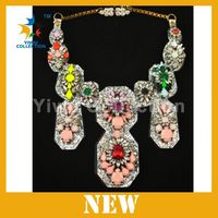 Manufacturer cheap statement necklace,south american jewelry,african beaded necklace