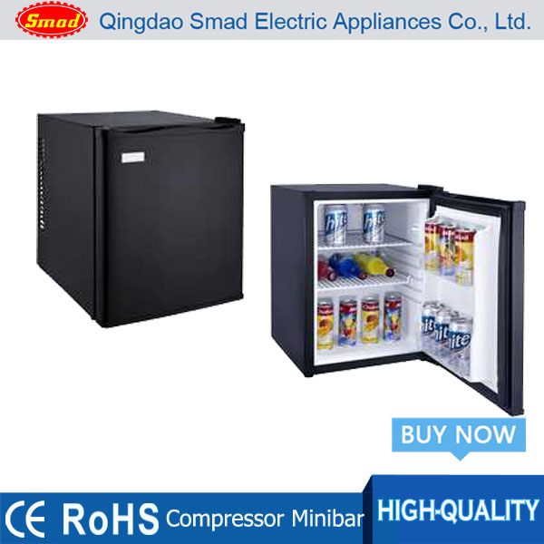 35L Mini glass door refrigerator/ Compressor Minibar/table top refrigerator made in China