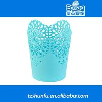 2015 plastic decorative flower pots,eco-friendly garden pots,large plastic flower pots colorful plastic flower