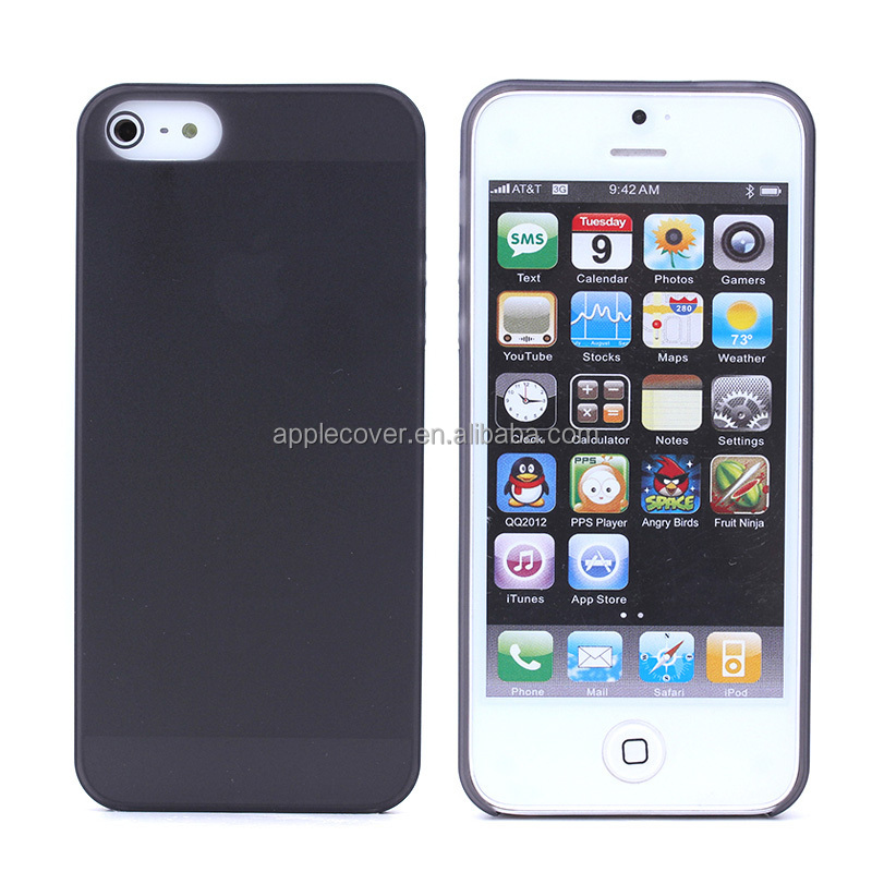Ultra thing 0.3mm hard case for i Phone 5 5S,for iphone housing