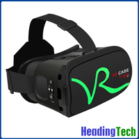 Newest Version VR CASE RK-A1 Virtual Reality 3d Moives Cardboard 3d vr glasses upgraded vr box