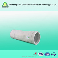 Dust filter bag with Non-woven blended polyester felt