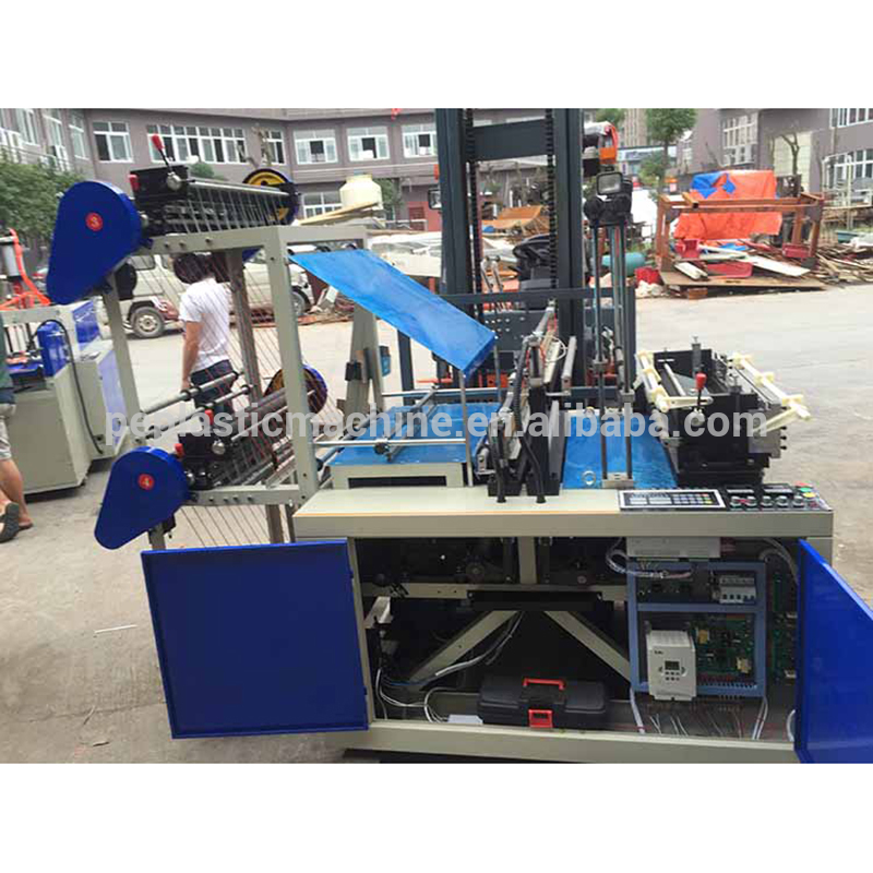 Competitive price plastic carry bag making machine
