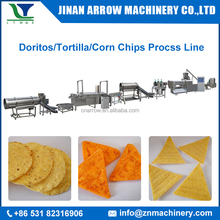 automatic tortilla maker machine/doritos process line/corn chips making machine