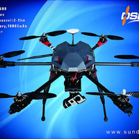Professional Aerial Drone With Solar Panel