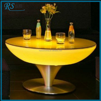High-grade exotic bar cocktail table / led bar table for bar
