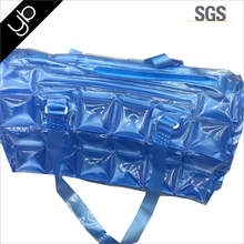 Wholesale PVC transparent air bubble inflatable beach tote bag for beach leisure