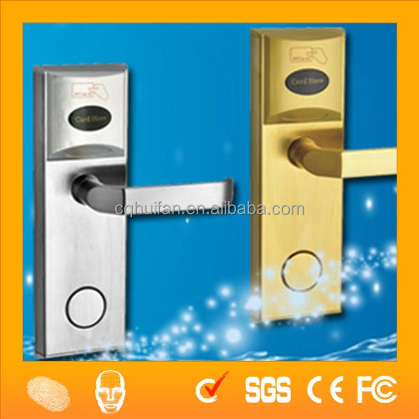 Automatic Card Reader ~ Ic id card reader automatic hotel door lock hf hl