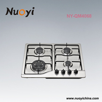 Luxury high standard portable 4 burner gas cooker stove hotplate parts with ce