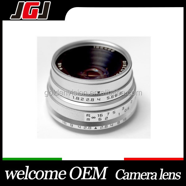 Factory Price 25mm F1.8 Lens For Sony For NEX For Fuji For Olympus M4/3 Focus Lens