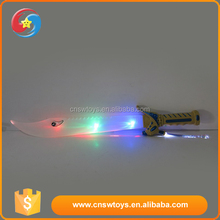 Wholesale cheap kids toys funny flashing plastic medieval swords