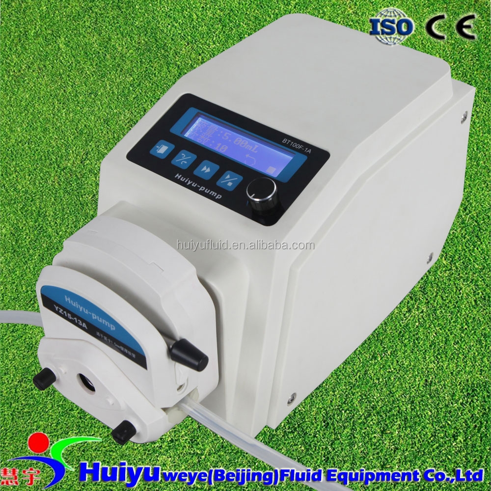 lab sterile culture media filling/ intelligent dispensing peristaltic pump