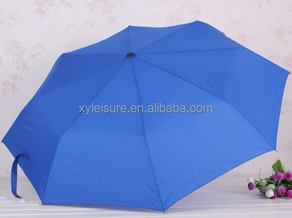 hotsale colorful promotion gift 3 folding umbrella