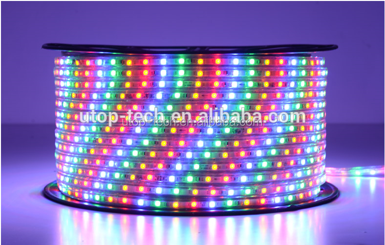 24W SMD3528 Blue / Yellow led Flexible strip Lights With Low Power Consumption