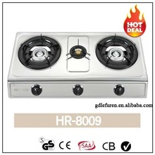 Chinese new technology automatic tempered glass cooking top