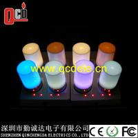 4pcs/set USB rechargble multicolor led lamp table