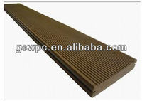 Anti-corrosion wpc Solid Decking /wpc outdoor decking floor