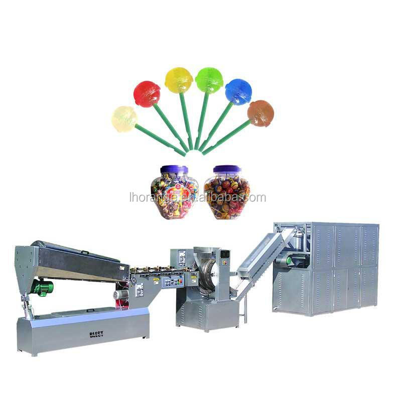Lollipop Making Machine / Lollipop Confectionery Production line +86-15939582629