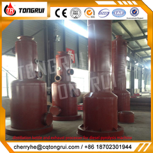 Hot products trend pyrolysis recycled waste plastic to oil machine
